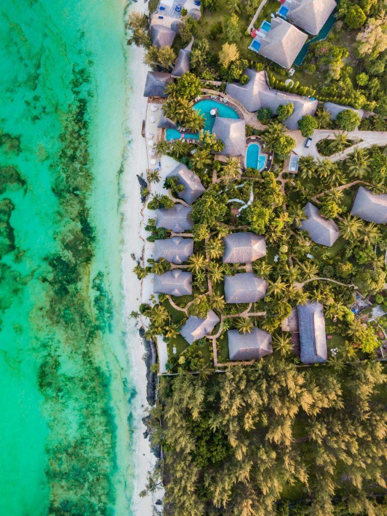 Plages de Zanzibar et hôtels